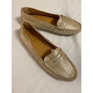 Sperry Gold Cup Exotic Dot Penny Driver - Size 6.5